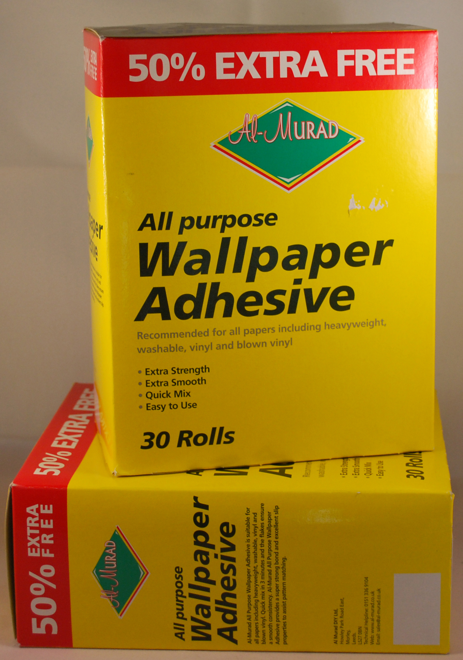 Wallpaper Paste 30 roll box 1494x2130