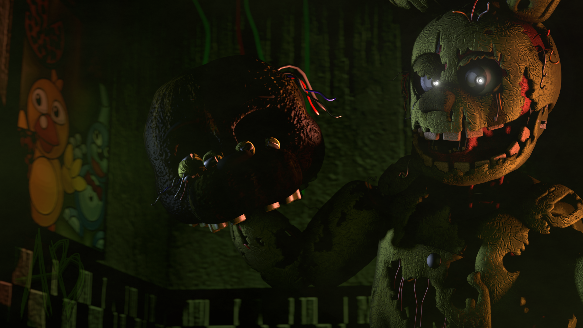 Free Download Five Nights At Freddys 3 Hd Wallpaper Background