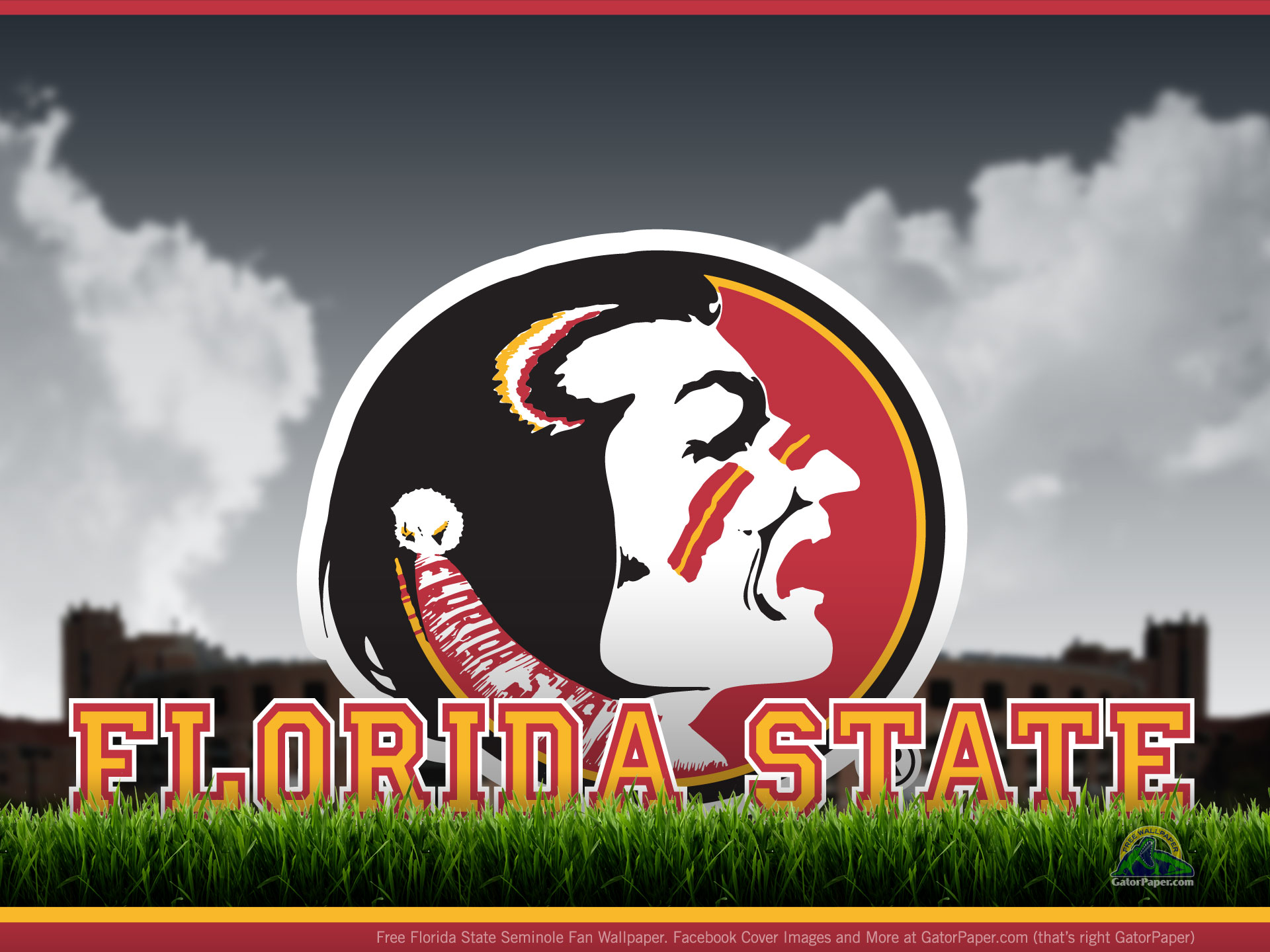 Florida State Seminoles Field Level 1920x1440