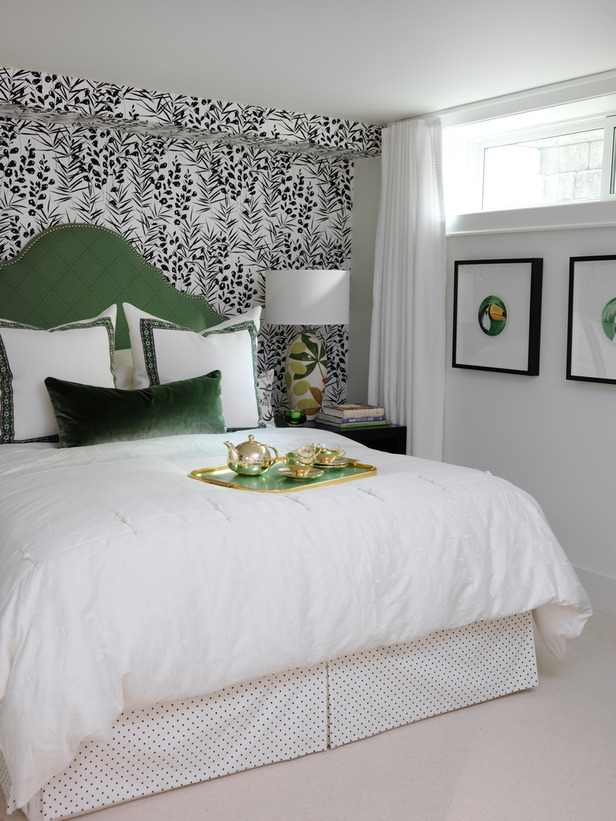 Headboard Ideas from HGTV Designers Bedroom Decorating Ideas for 616x821