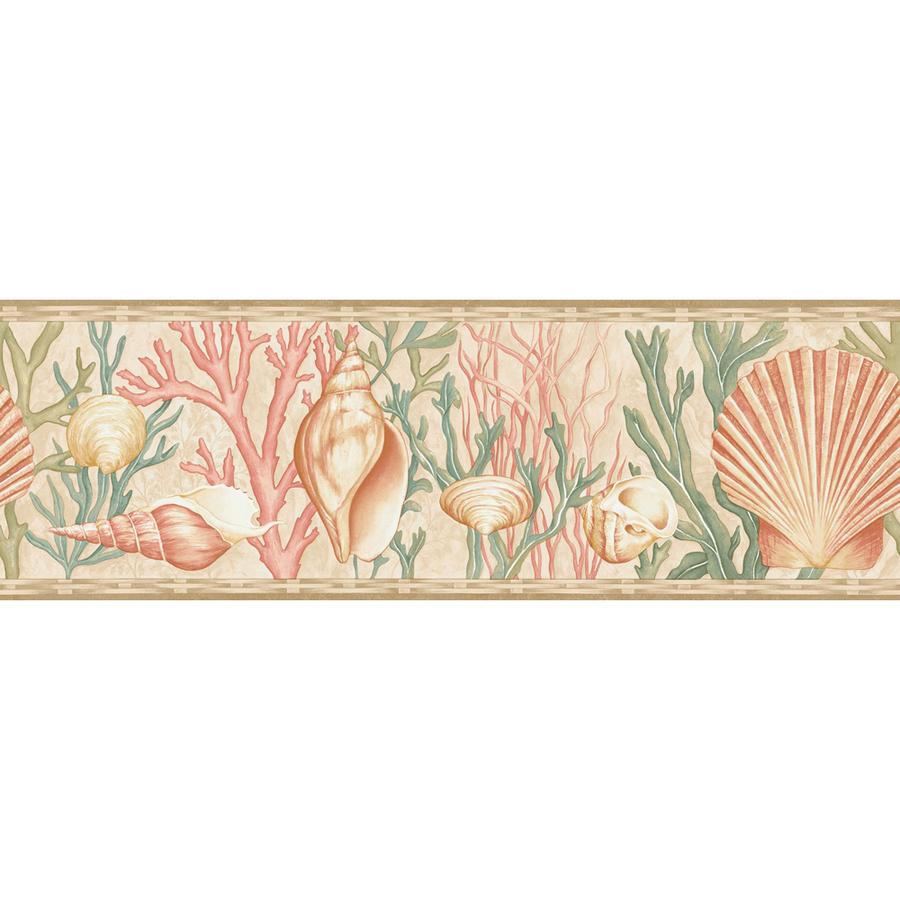 Multicolor Sea Shells Prepasted Wallpaper Border at Lowescom 900x900