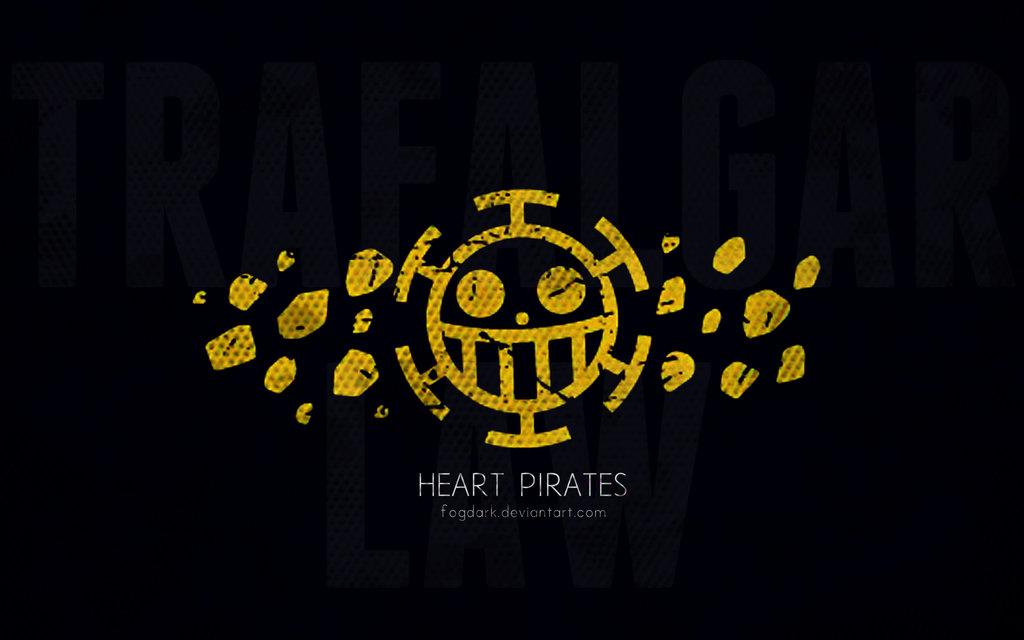 Minimalistic Heart Pirates wallpaper by fogdark 1024x640