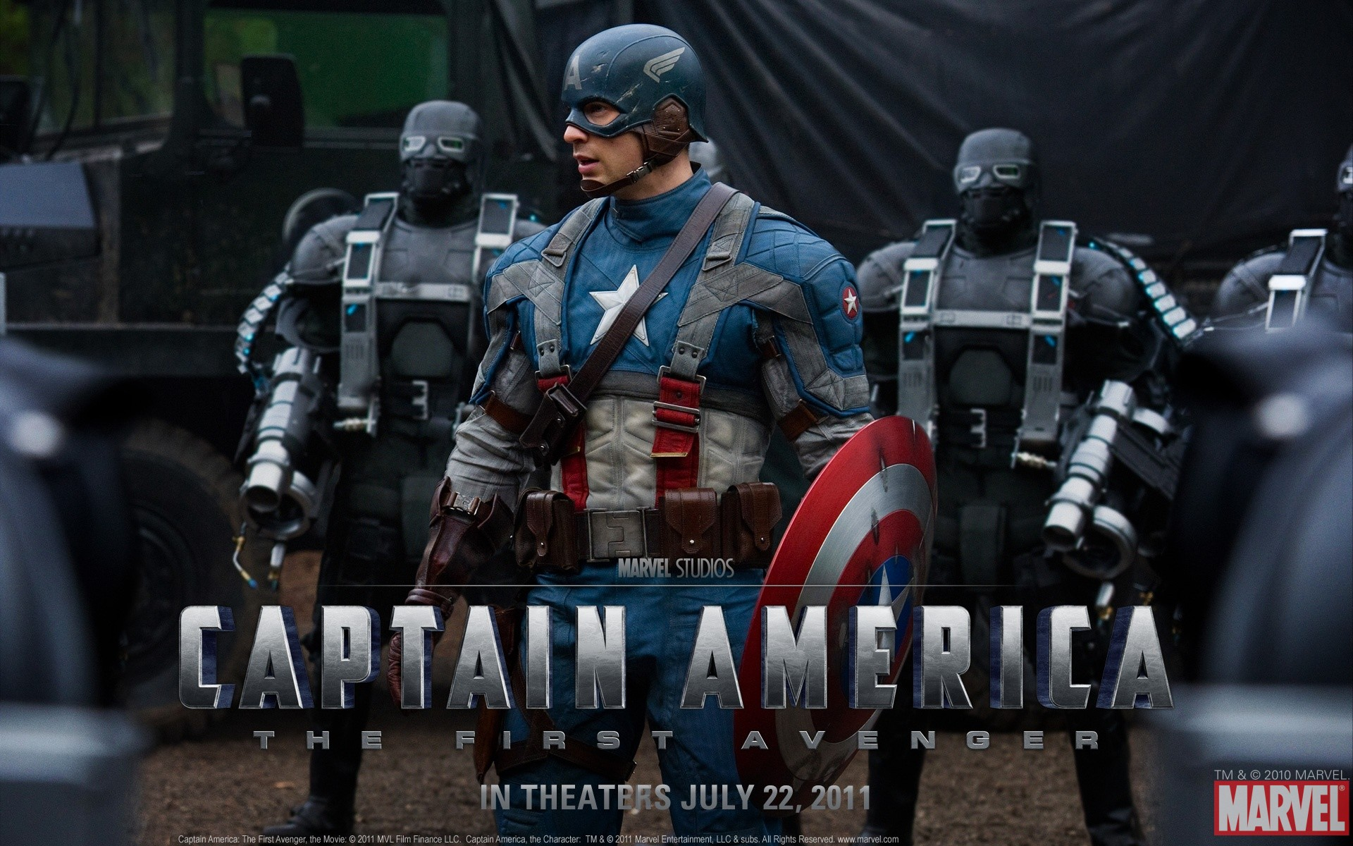 2011 Captain America Wallpapers HD Wallpapers 1920x1200