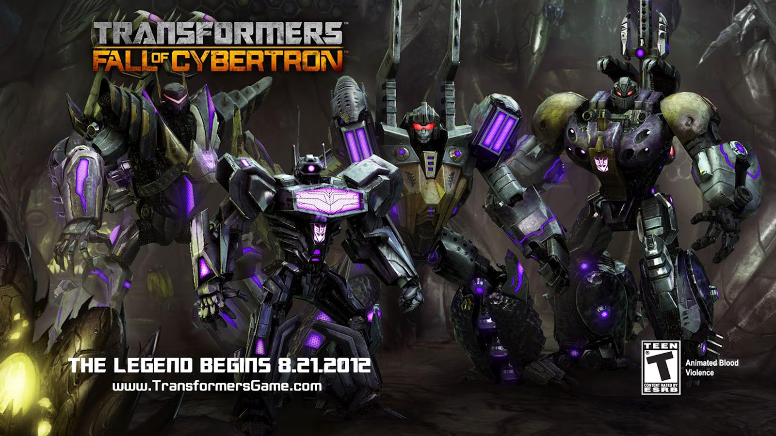 TRANSFORMERS FALL OF CYBERTRON OFFICIAL CONCEPT ART POSTERS 1600x900