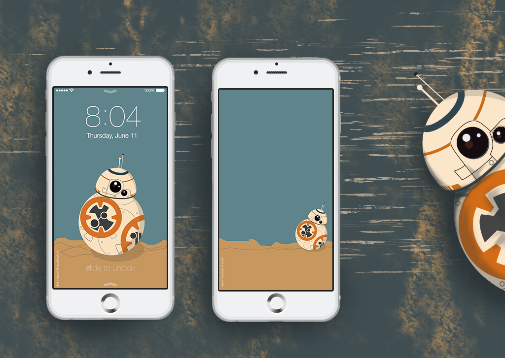50 Bb8 Iphone Wallpaper On Wallpapersafari