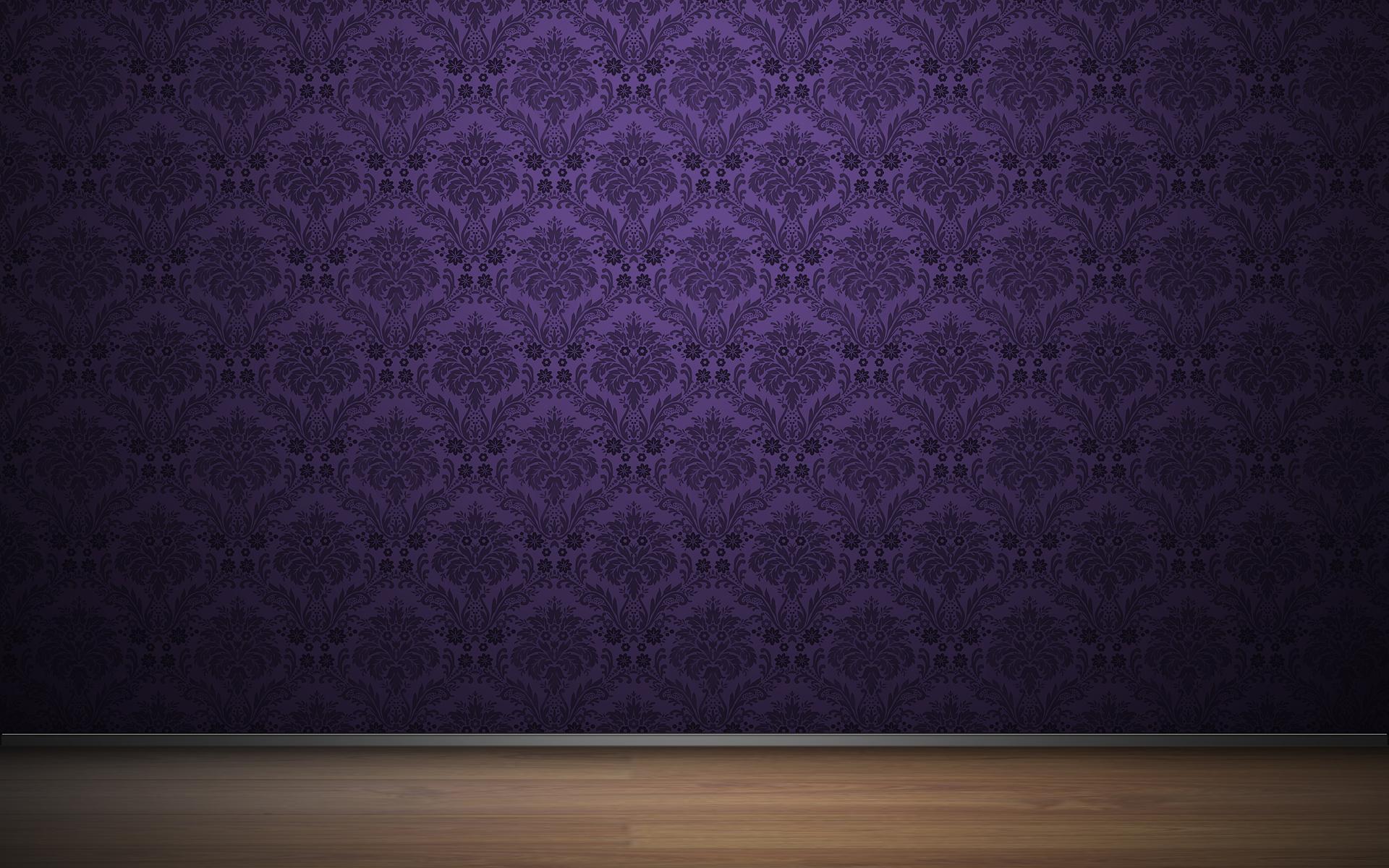 Purple vintage pattern wallpaper   42466 1920x1200