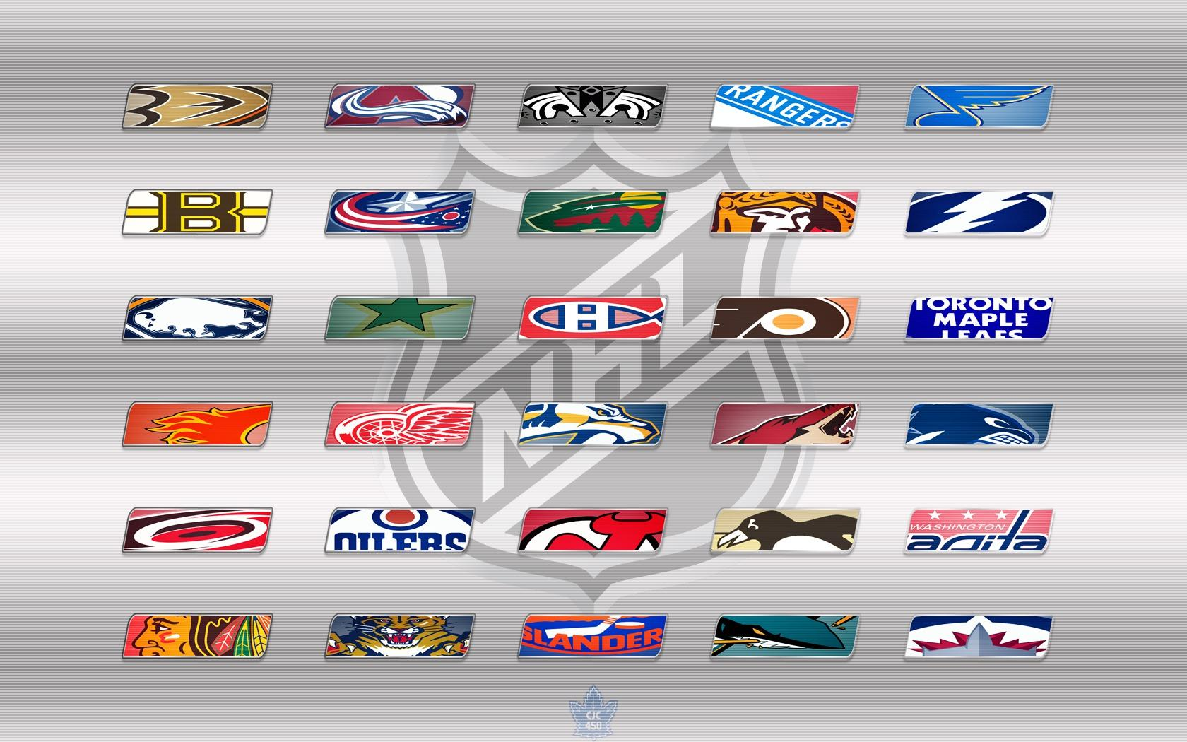 NHL TEAMS LOGOS WALLPAPER 2012   66505   HD Wallpapers 1680x1050