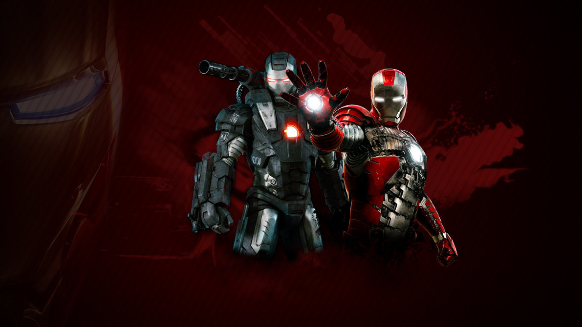 Iron Man 2 Wallpaper Red by stiannius 1191x670