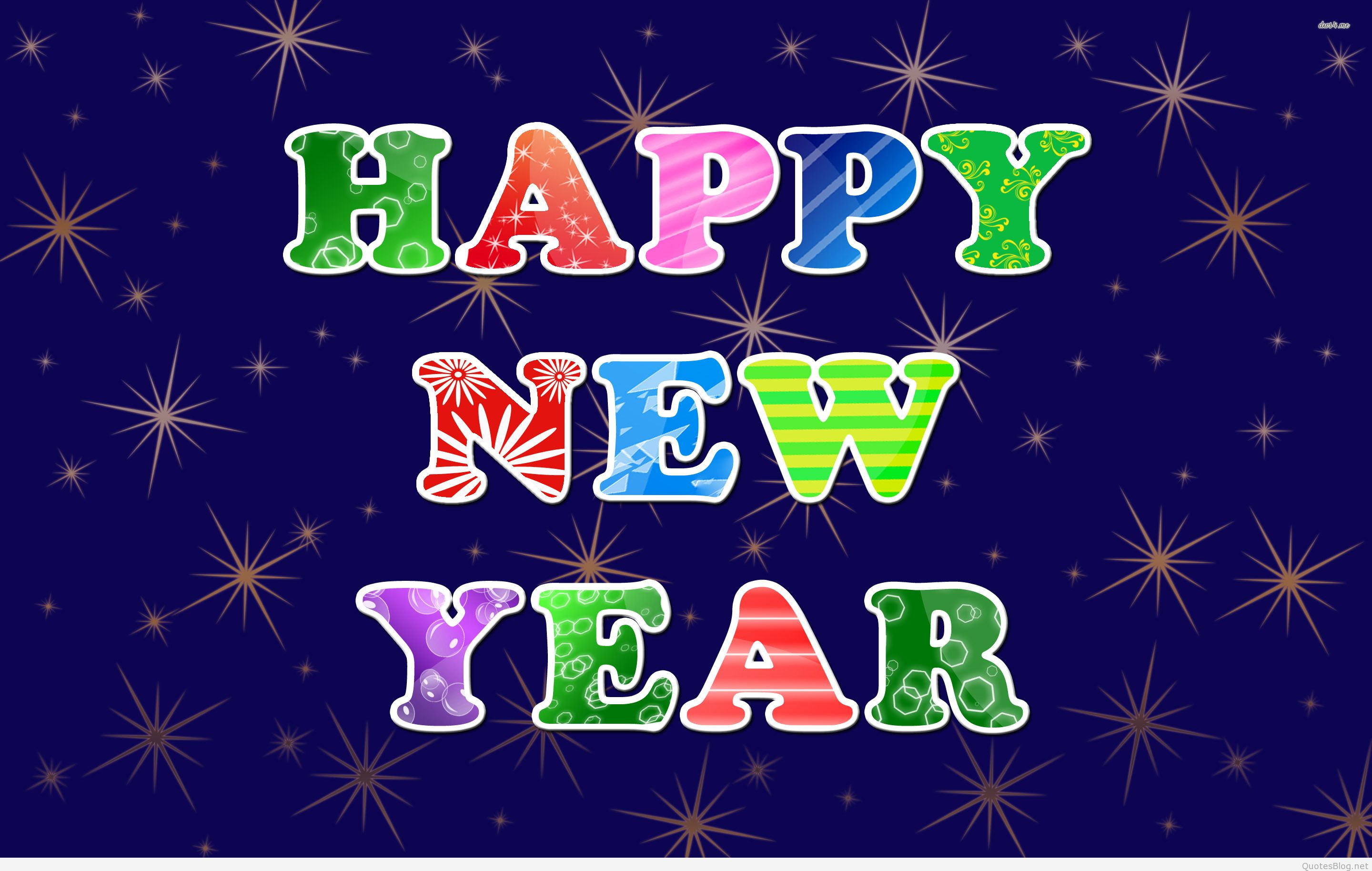 Happy new year backgrounds wallpapers 2016 2880x1828