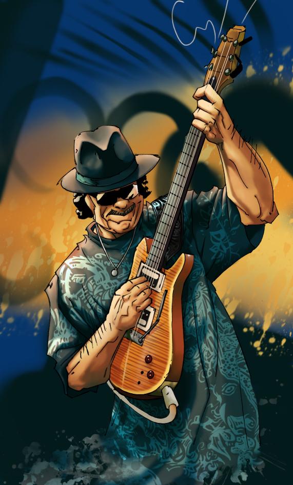 571x946px Carlos Santana Wallpaper 571x946