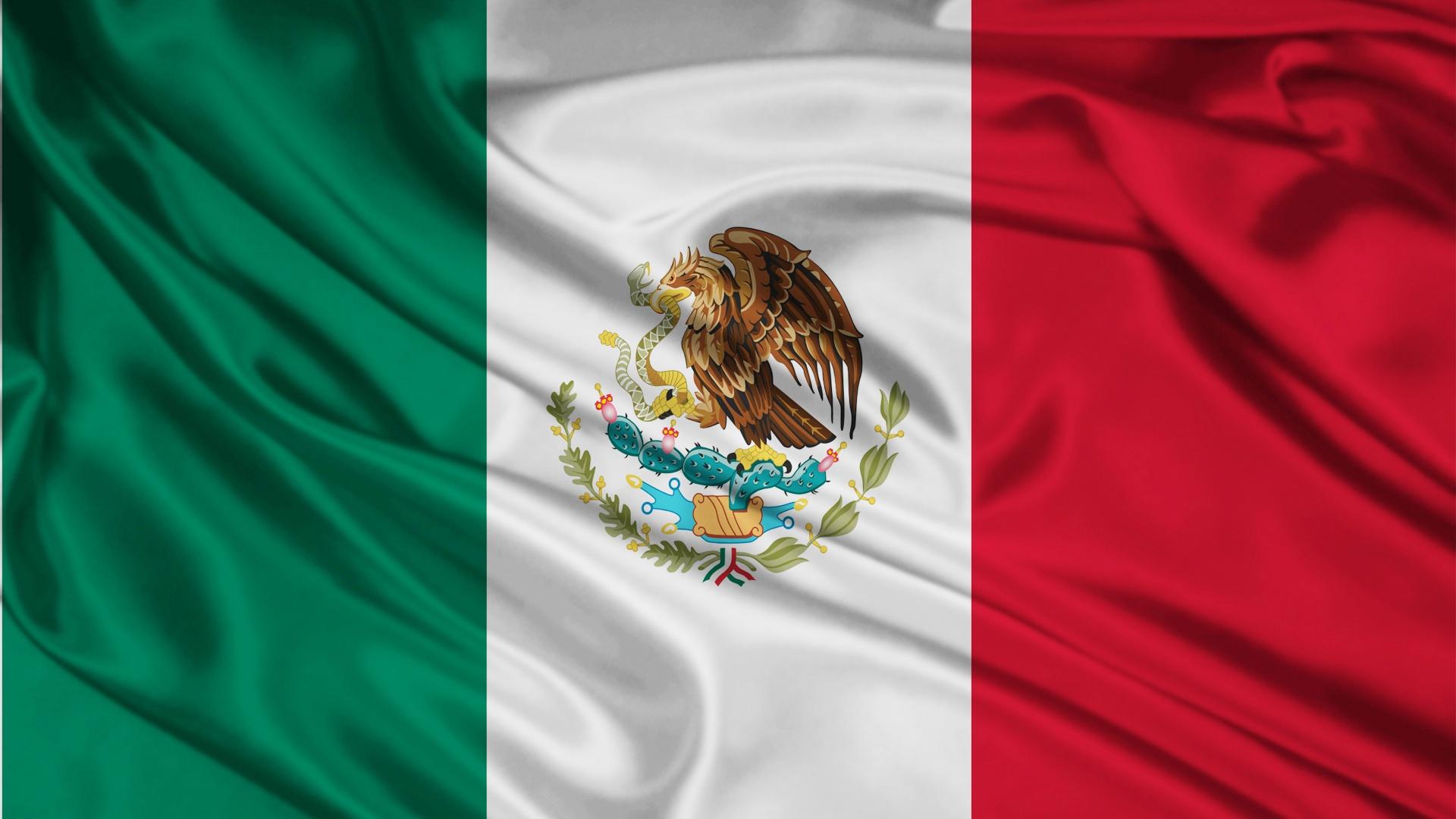 1920x1080 Mexico Flag desktop PC and Mac wallpaper 1920x1080