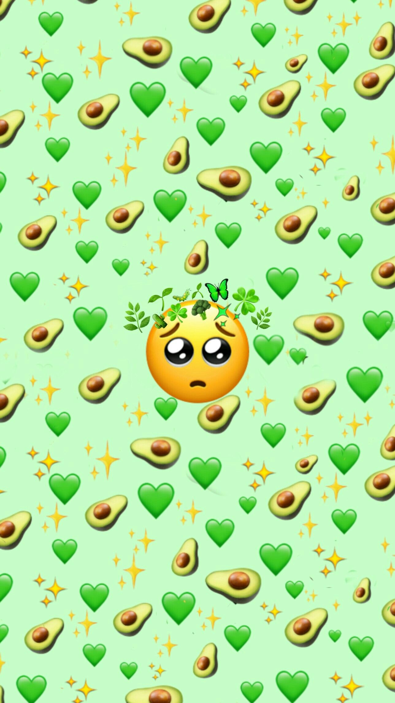 Free download Green Emoji background Emoji wallpaper Emoji ...