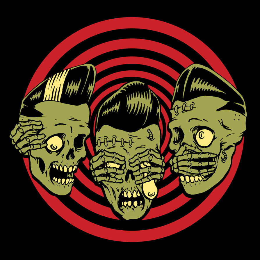 Horror Rudey Psychobilly Artist Clothing 894x894