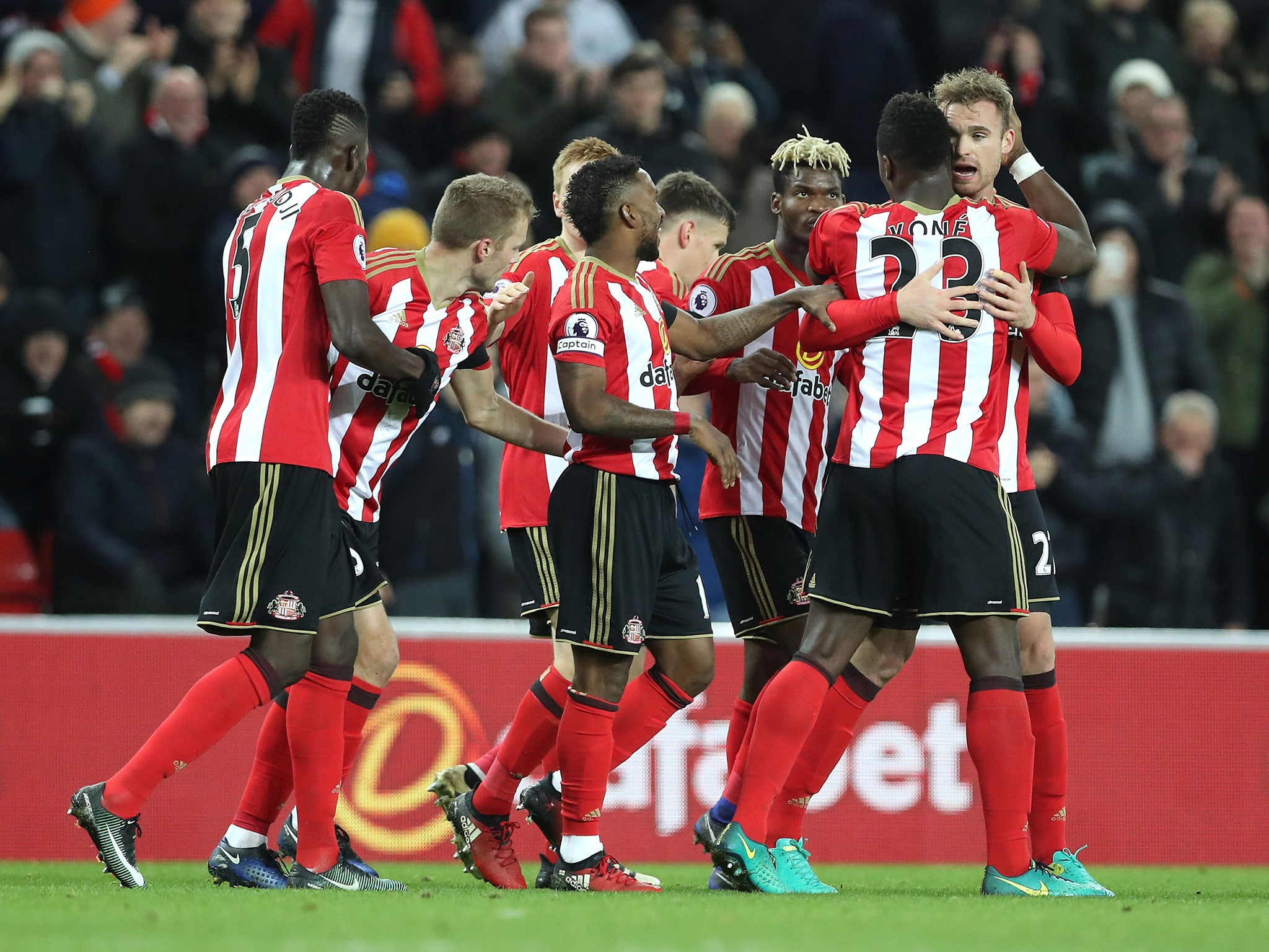 Sunderland vs Leicester match report Jermain Defoe condemns Foxes 2048x1536