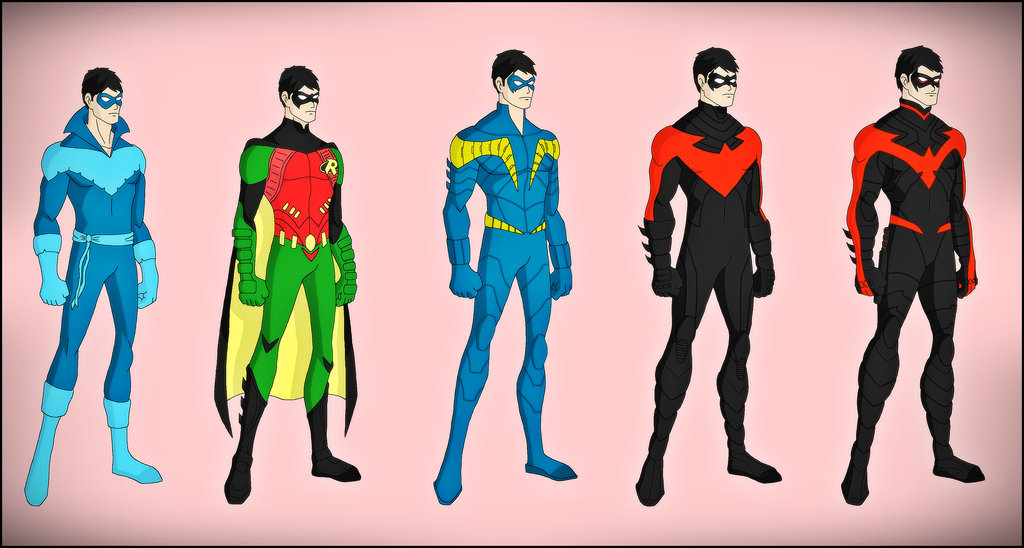 Dick Grayson   The New 52 Evolution by DraganD 1024x548
