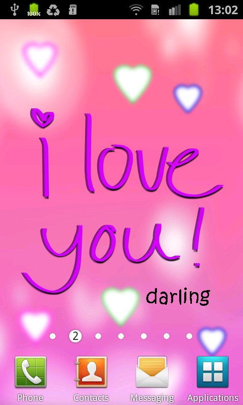Wallpapers For Mobile I Love You : cute Love Wallpapers for Mobile - WallpaperSafari
