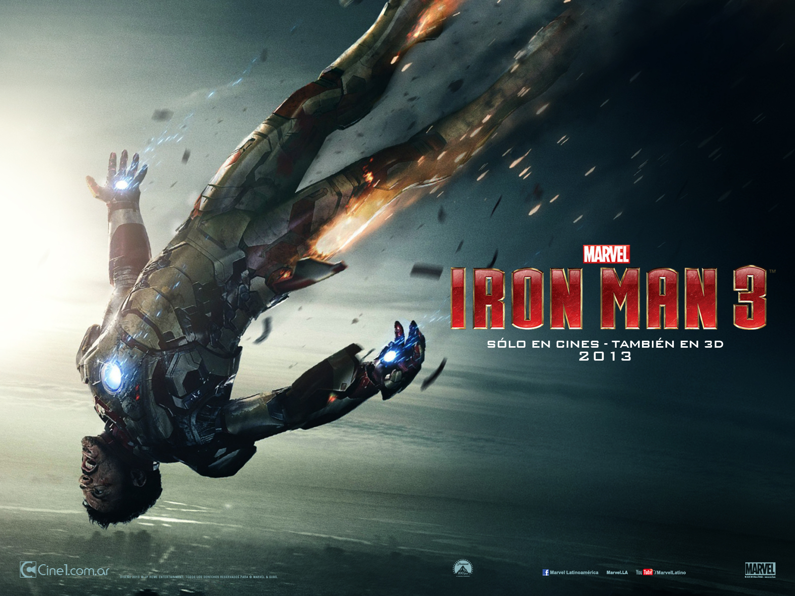 Free Download Hd Wallpapers Iron Man 3 Wallpapers 1600x1200 For