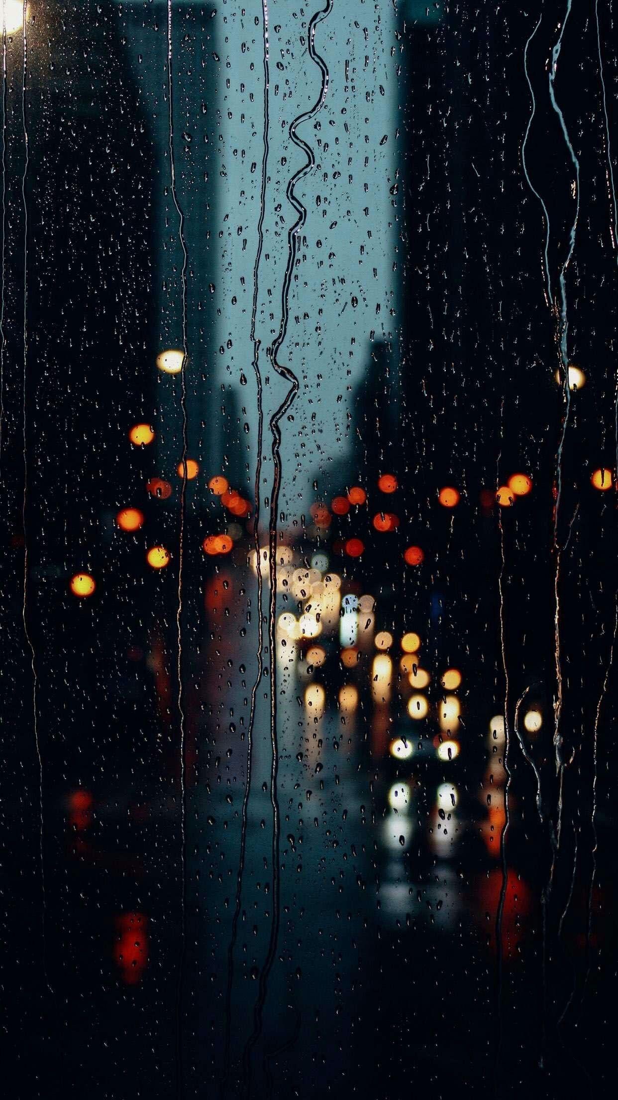 Pin by Iyan Sofyan on Rain in 2019 Rainy wallpaper Rain 1242x2208