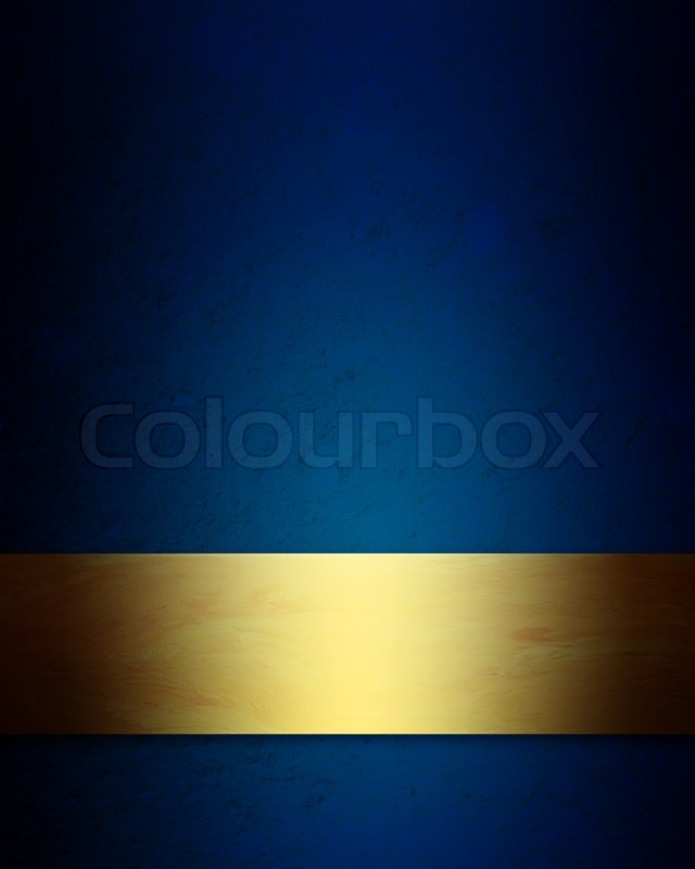 Blue And Gold Background Wallpaper Wallpapersafari