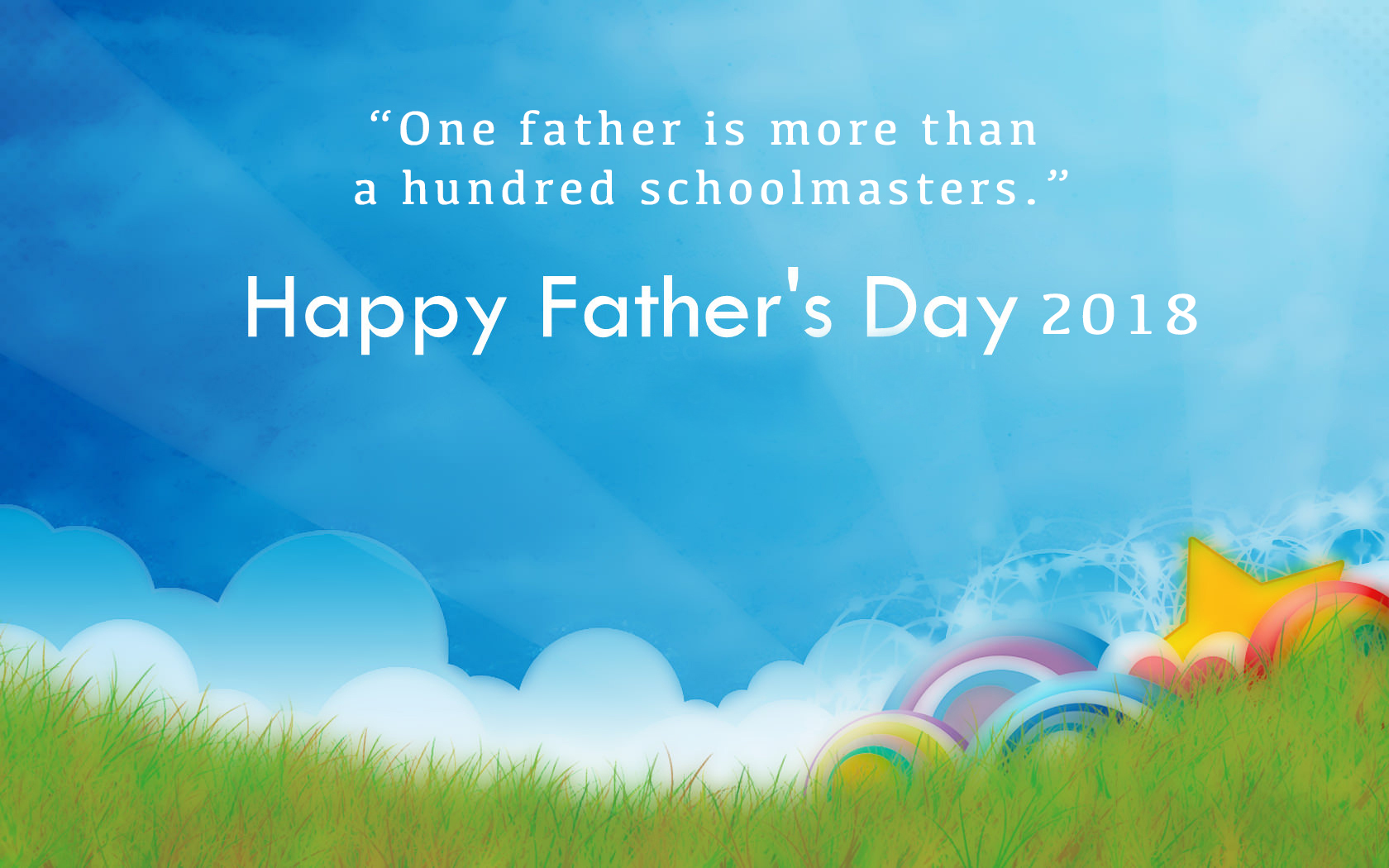 Happy Fathers Day Desktop Wallpaper 1680x1050