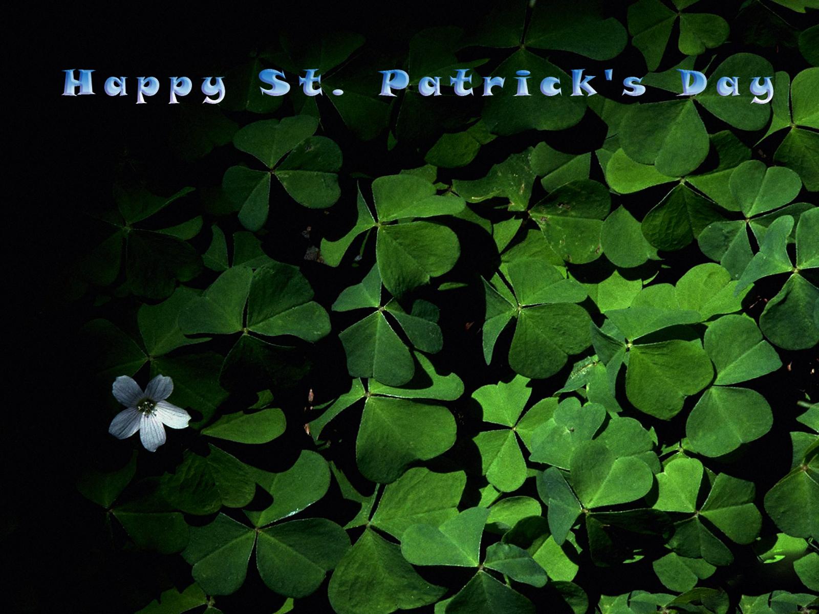Happy St Patricks Day 2011 computer desktop wallpapers 1600x1200