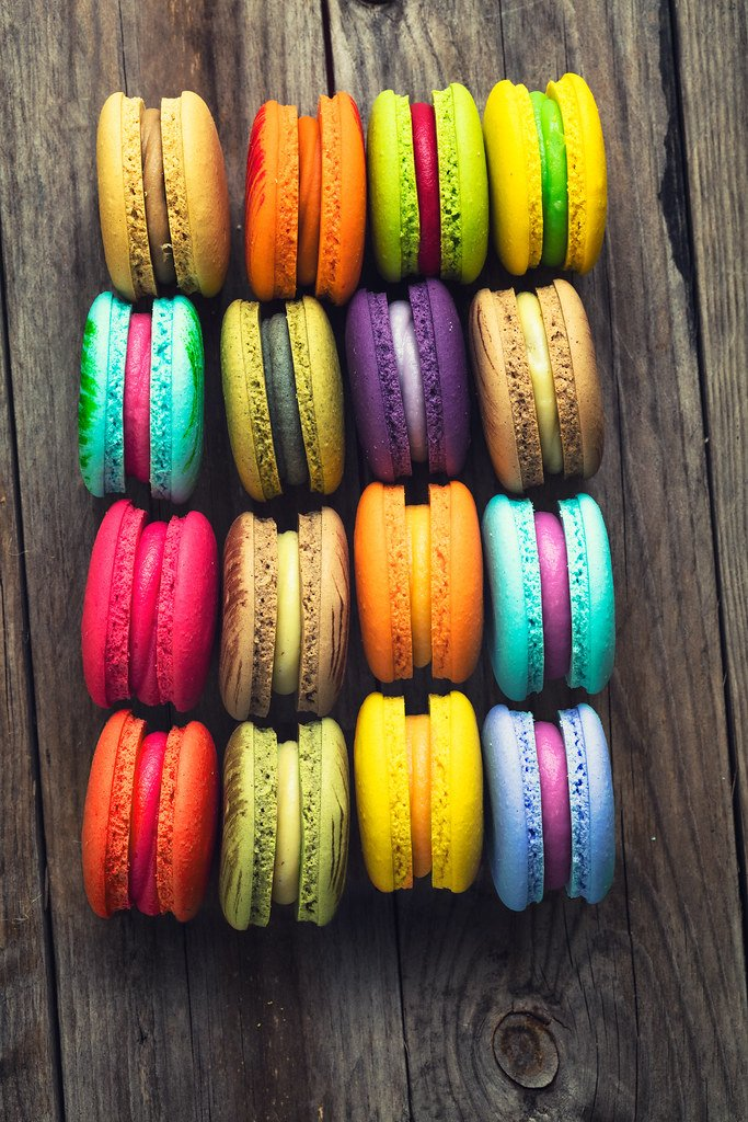 macarons French colorful macarons background close up tr Flickr 683x1024