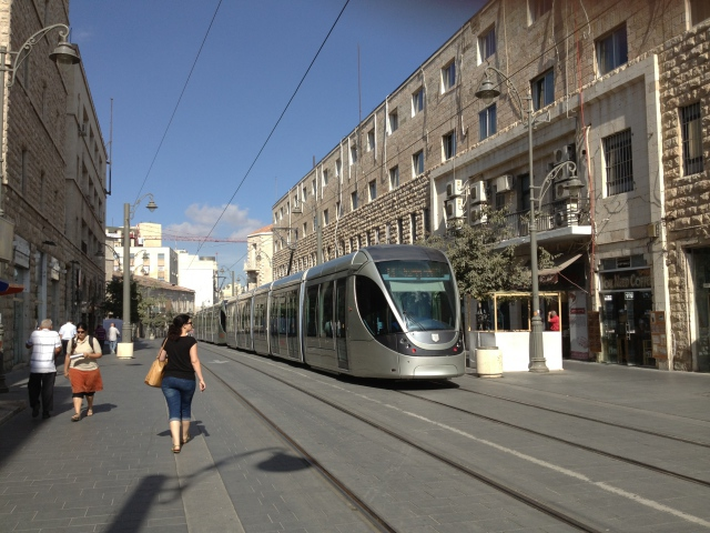 Street Train Israel wallpapers and images   wallpapers pictures 640x480