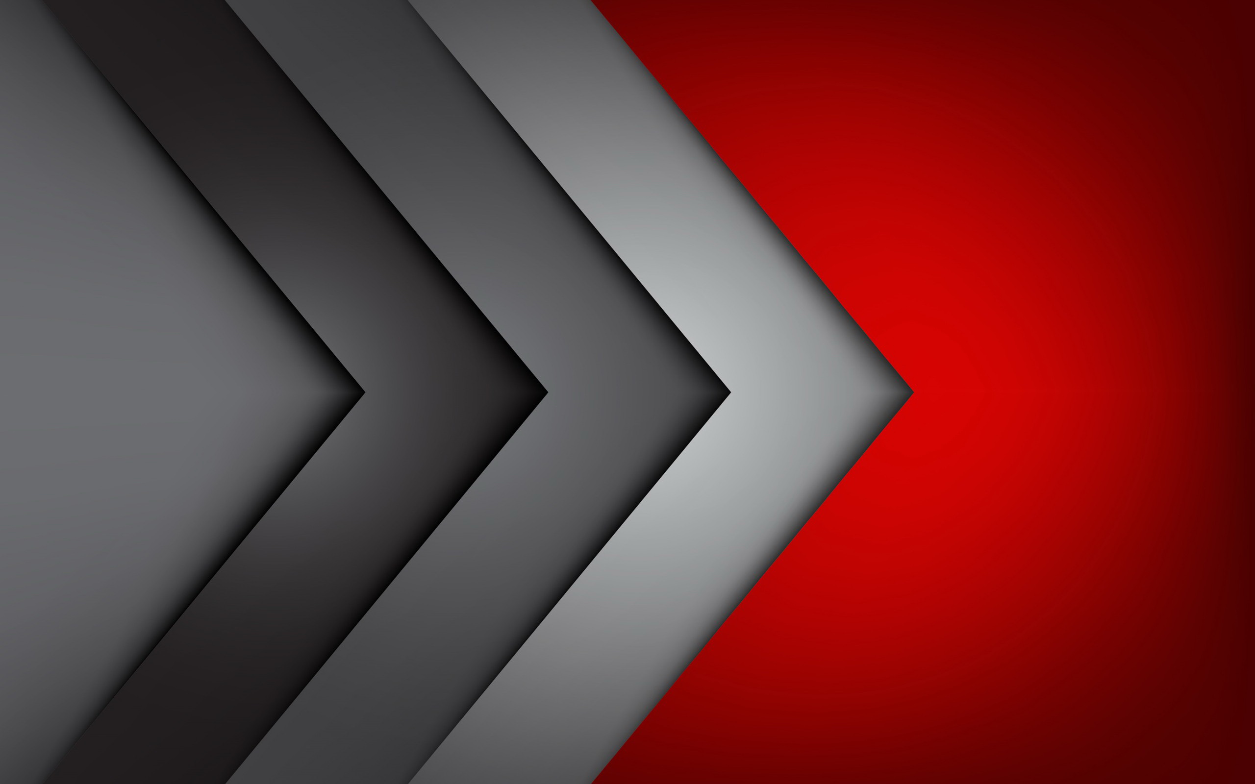 Red Grey HD Wallpapers Backgrounds 2560x1600