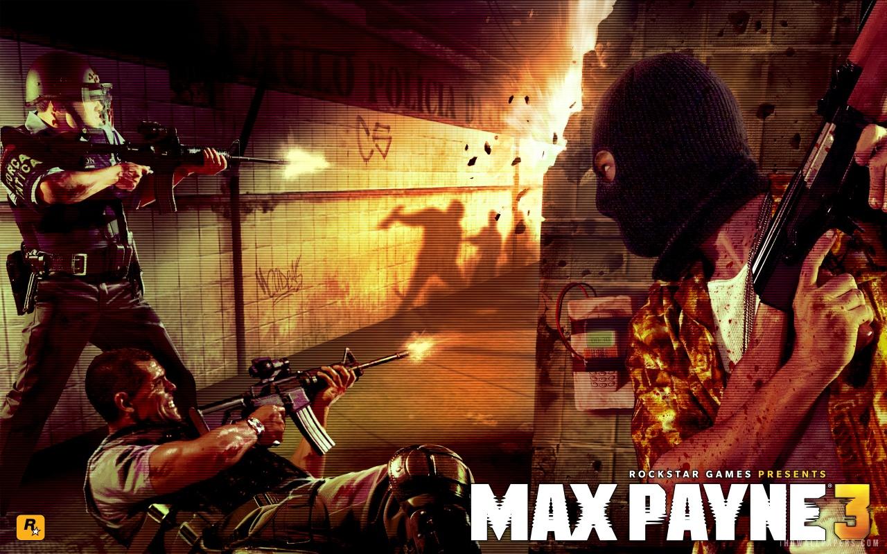 Description Download Max Payne 3 WallpaperBackground in 1280x800 HD 1280x800