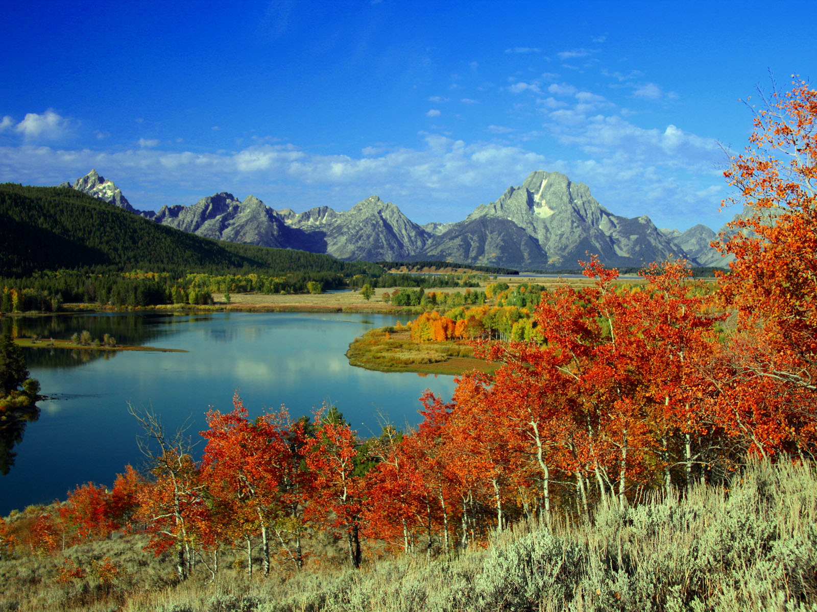 National Park Wallpapers GrandTeton National Park Desktop Wallpapers 1600x1200