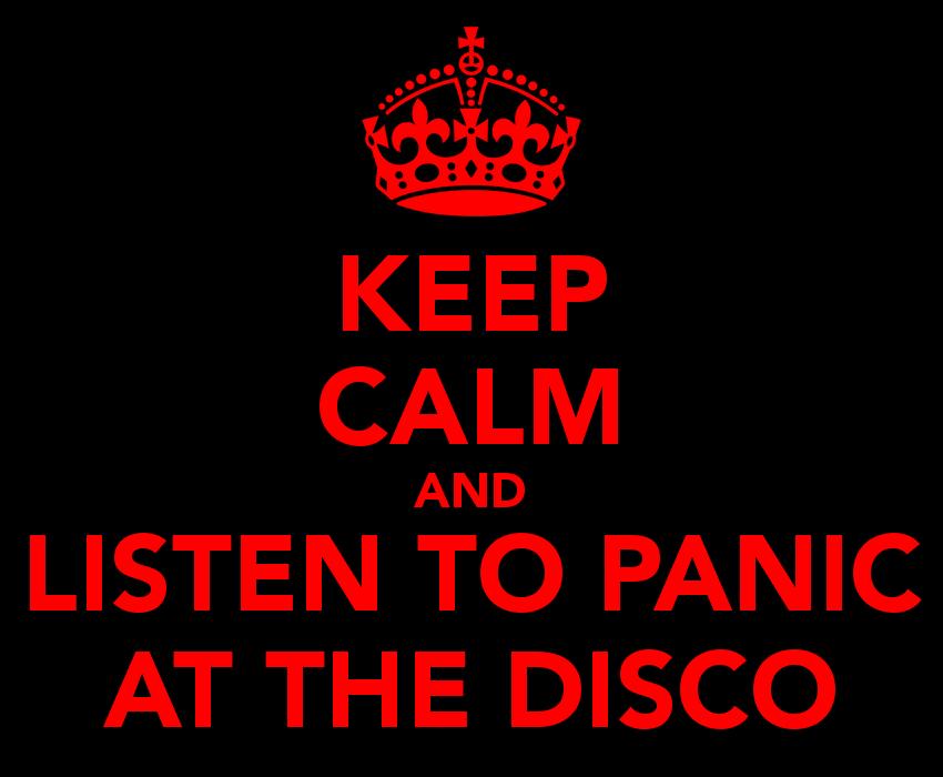 Source URL httpimgarcadecom1panic at the disco logo wallpaper 850x700