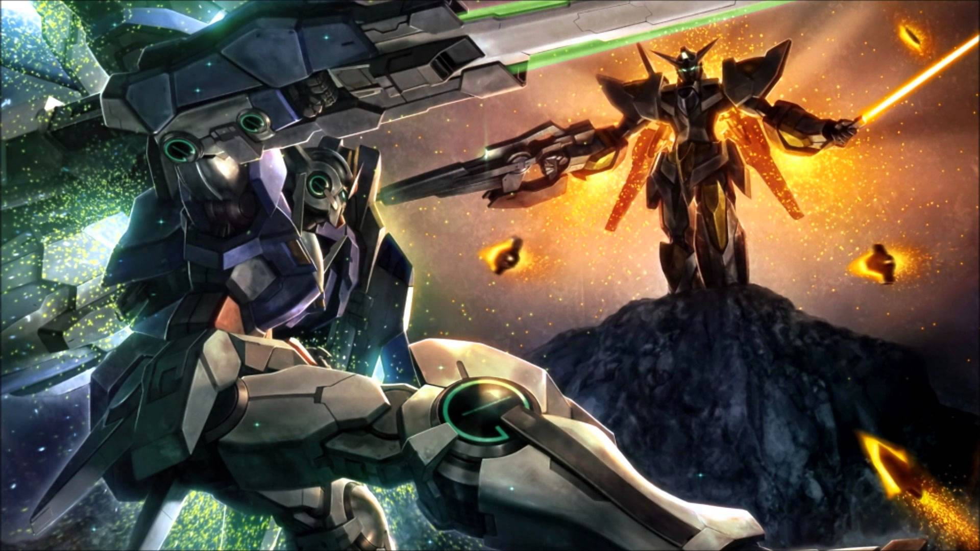 BATTLE   Gundam 00 OST 4   26 High Quality 1080p HD 1920x1080