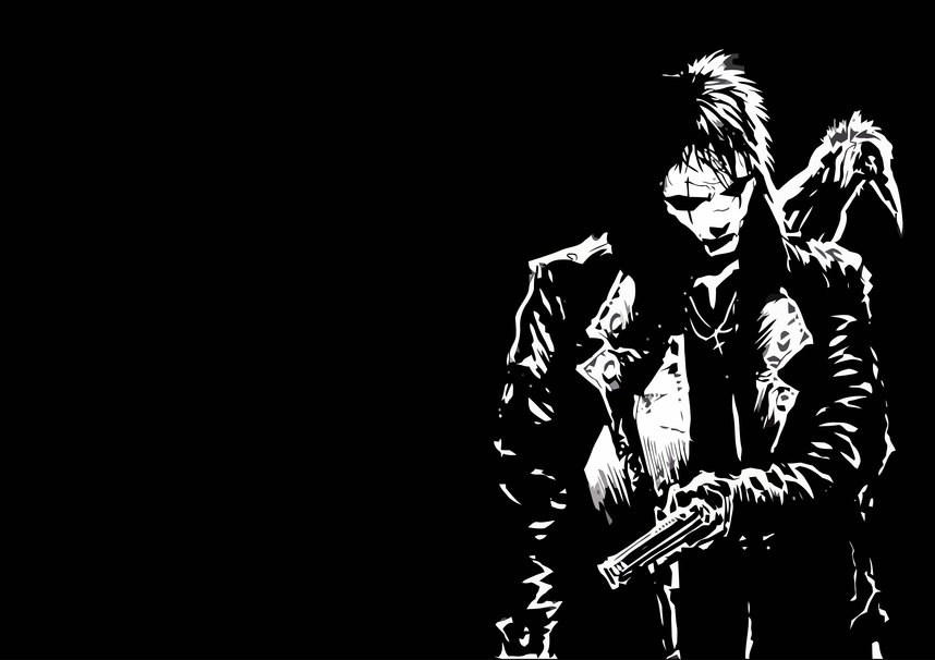 The crow hd wallpaper wallpapersafari - The crow wallpaper ...