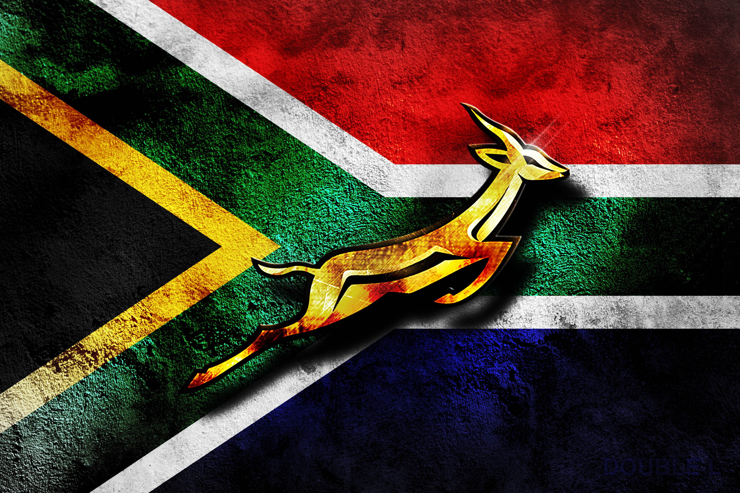 South african Rugby flag Desktop and mobile wallpaper Wallippo 2560x1707