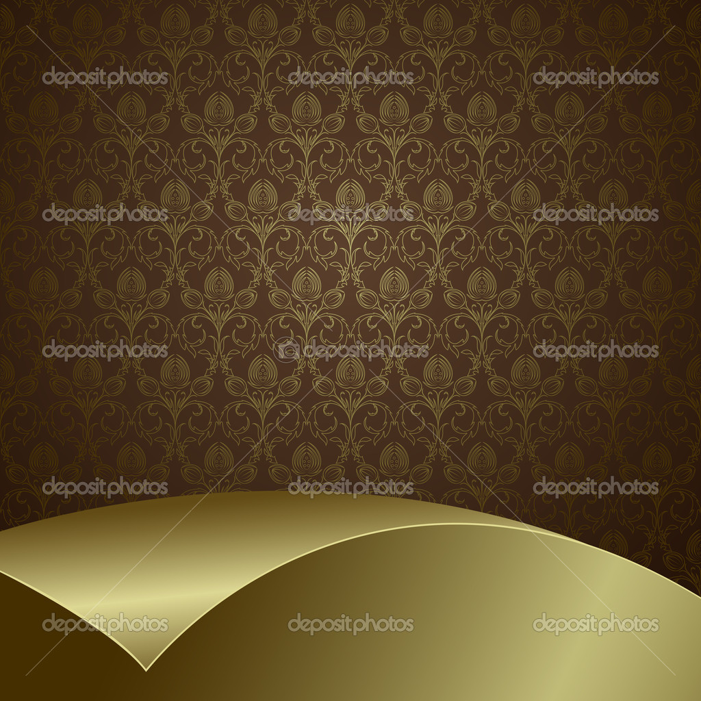Brown And Gold Wallpaper   Wallpapers HD Fine 1024x1024