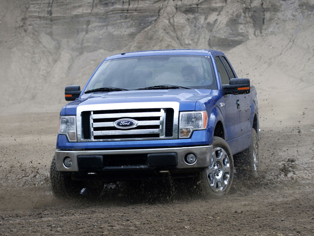 Ford F150 Desktop Wallpaper 1024x768