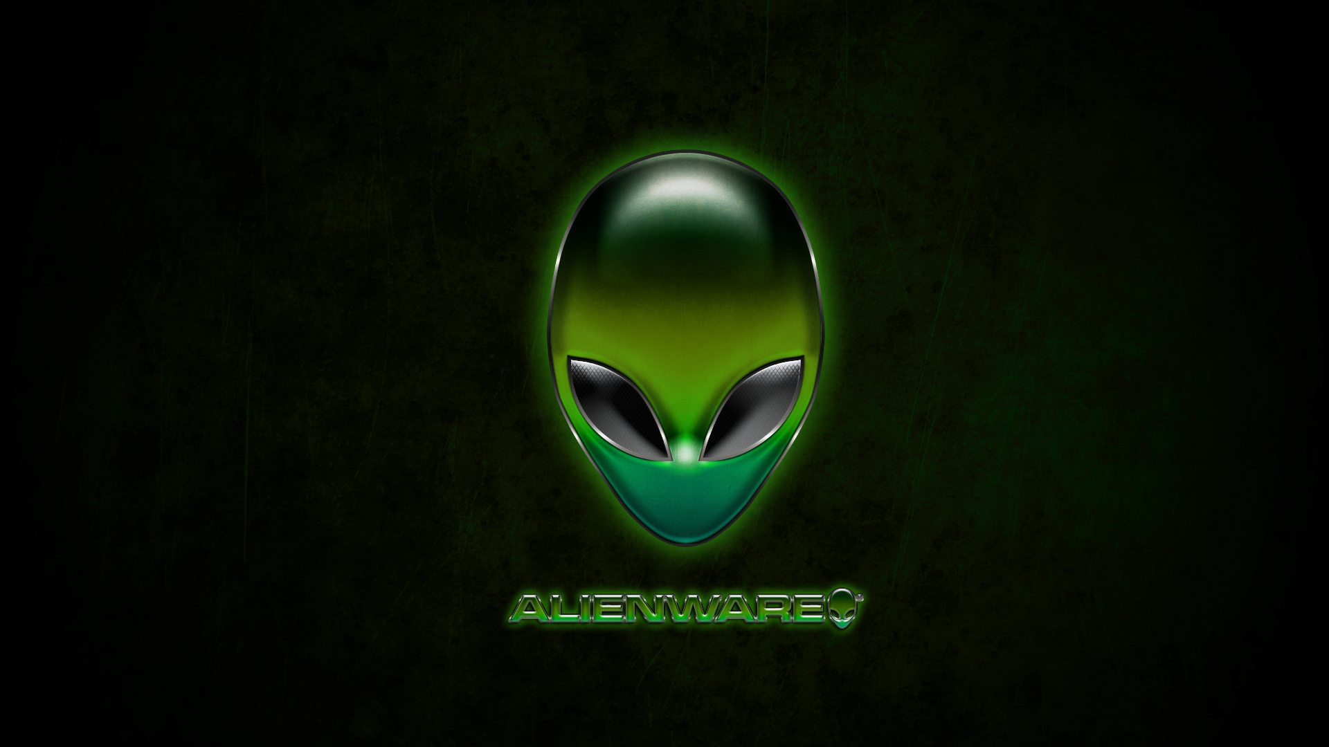 Alienware Green Wallpaper by Dustinsilver 1920x1080