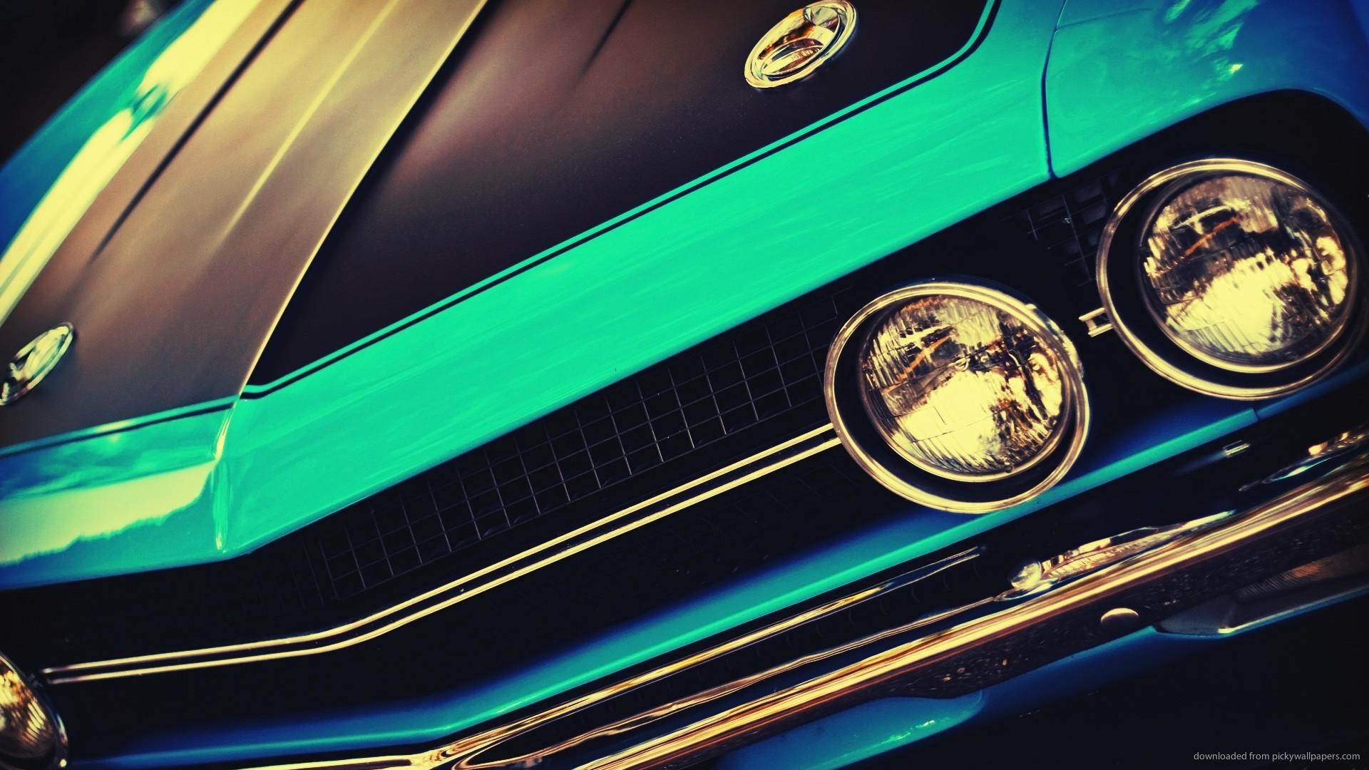 com 1920x1080 cars blue vintage muscle car wallpaper download 1920x1080