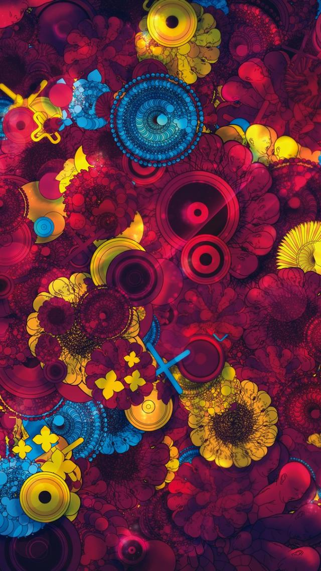 Psychedelic Wallpapers for iPhone - WallpaperSafari