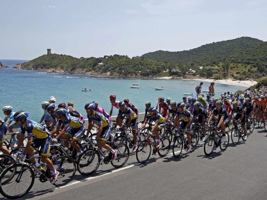 Tour de france cycling sports wallpaper 79910 1024x768