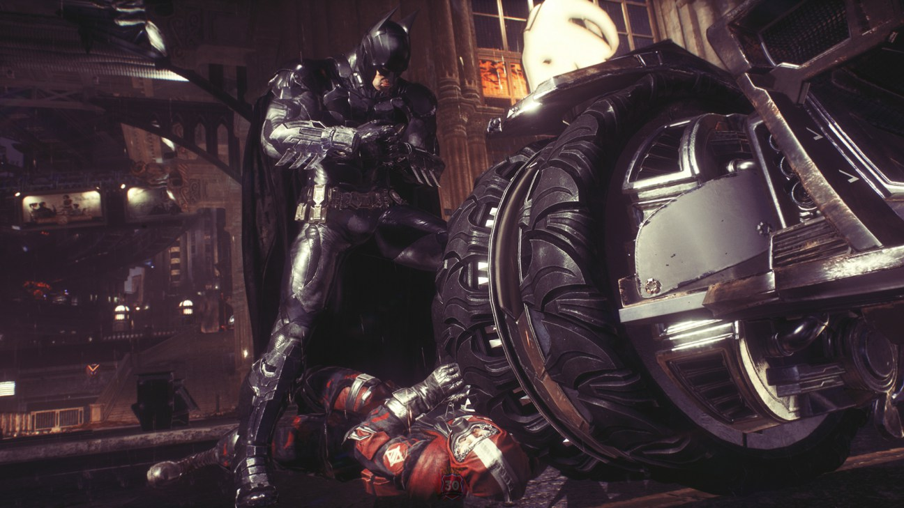 Batman Arkham Knight 2015 Video Game 4k Hd Desktop: Batman Arkham Knight 4K Wallpaper