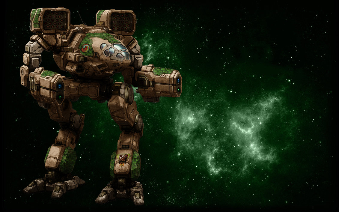 MWO Timber Wolf Mad Cat Wallpaper 2 by Odanan 1131x707