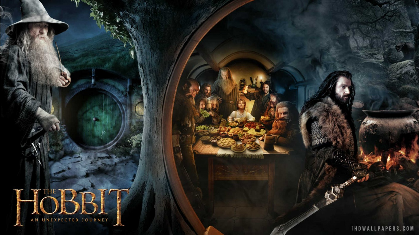 Description Download The Hobbit 2 WallpaperBackground in 1366x768 HD 1366x768