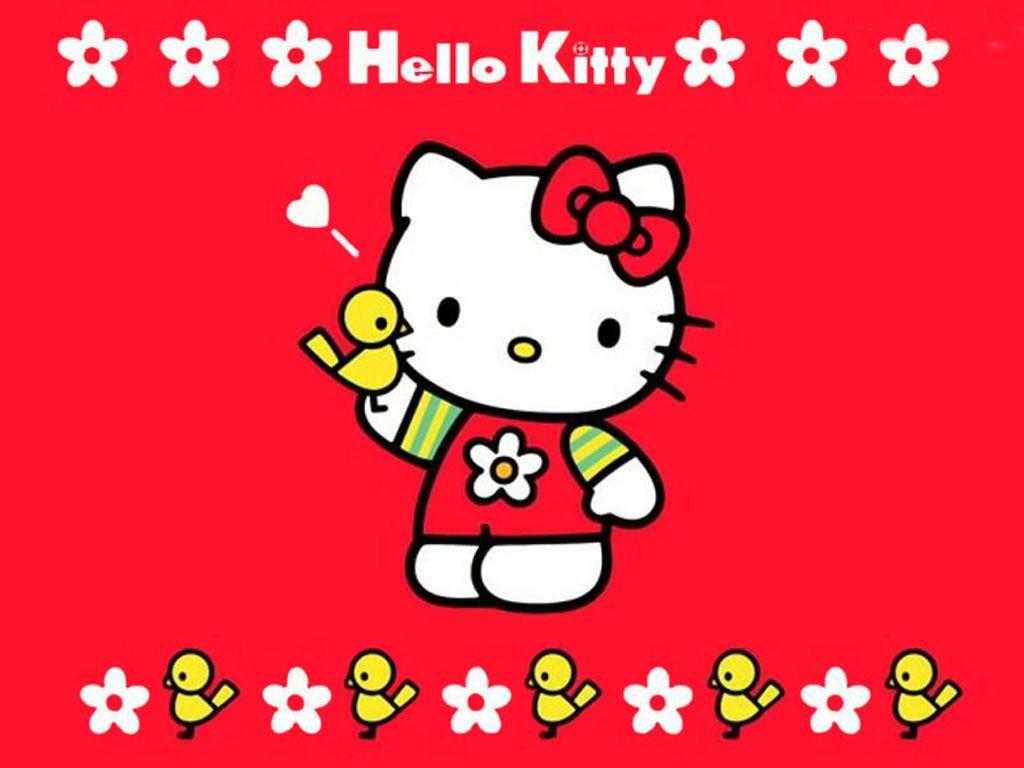 Hello Kitty Valentine Wallpapers 1024x768