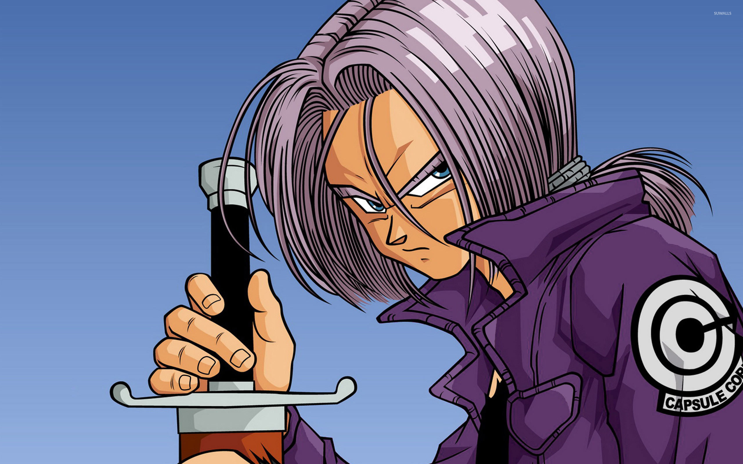 Dragon Ball Z Trunks Wallpaper 66 images 2560x1600