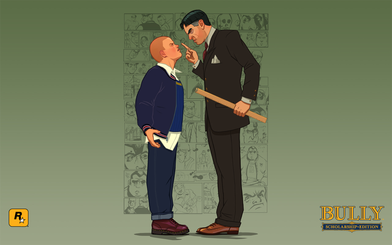 Bully Scholarship Edition 2008 promotional art   MobyGames 1280x800