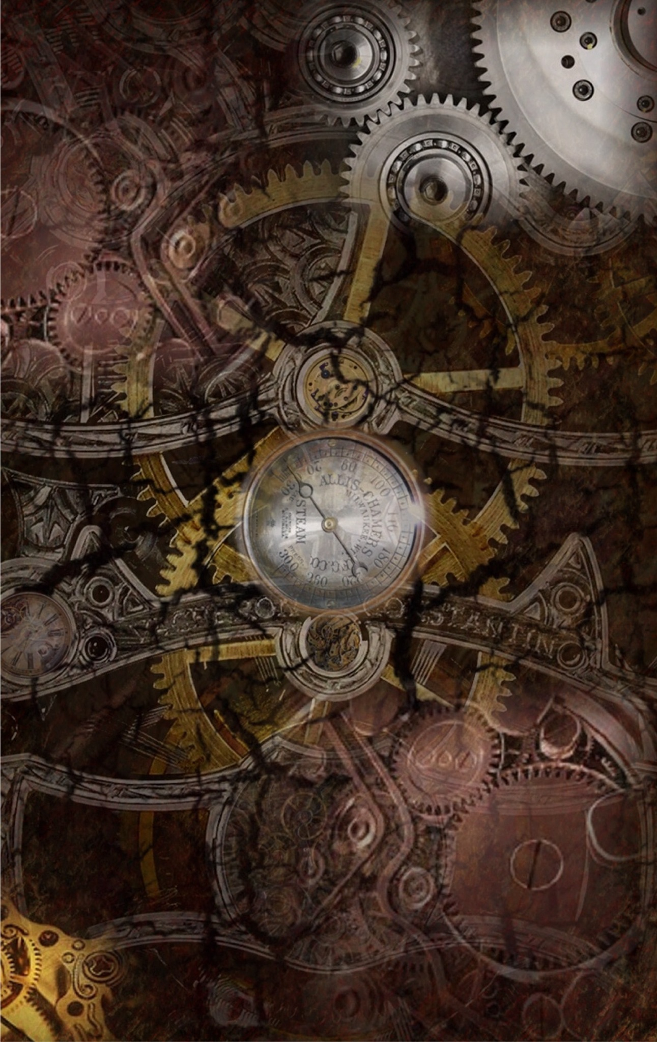 steampunk iPhone wallpaper steampunk Pinterest 1291x2048