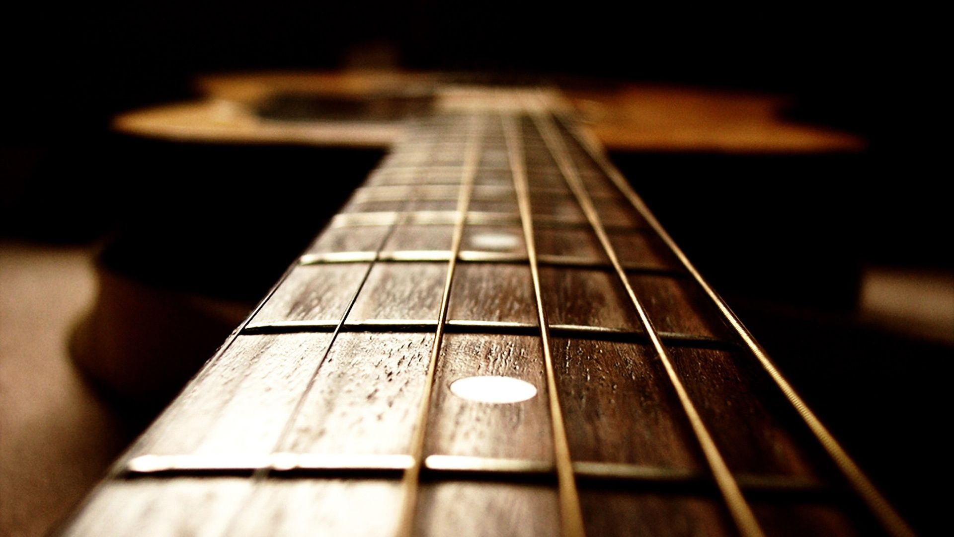 HD Acoustic Guitar Wallpaper 1920x1080