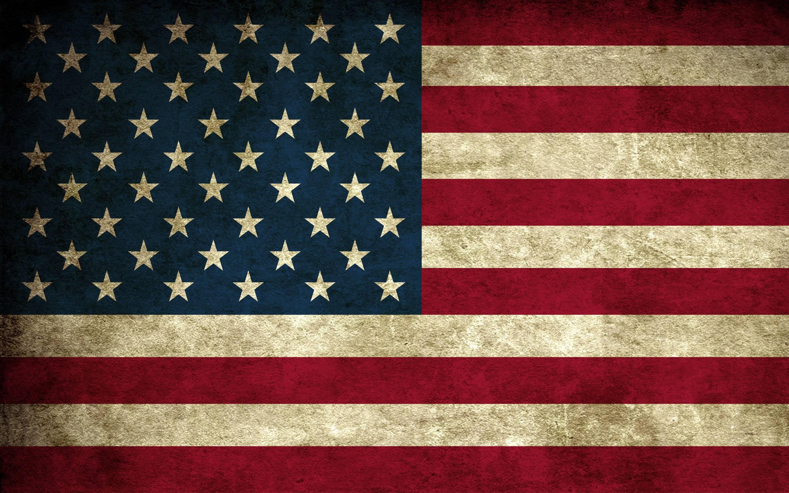 USA Flag Backgrounds 2560x1600