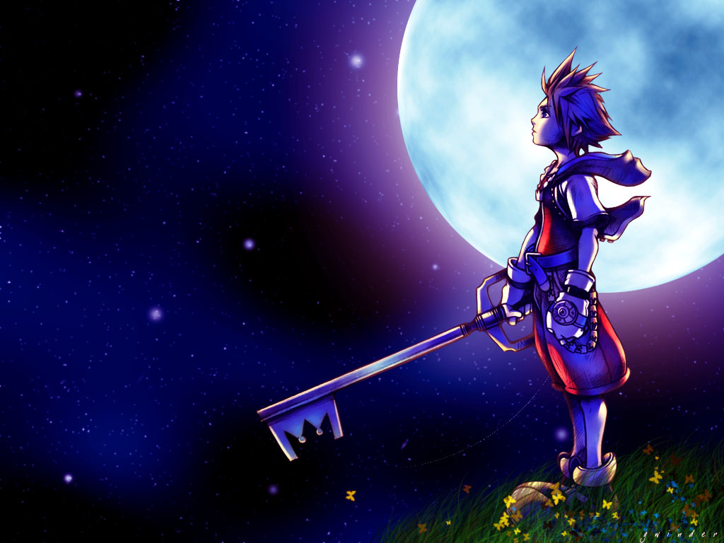 comwallpapers26372anime kingdom hearts hd wallpaperhtml 1024x768